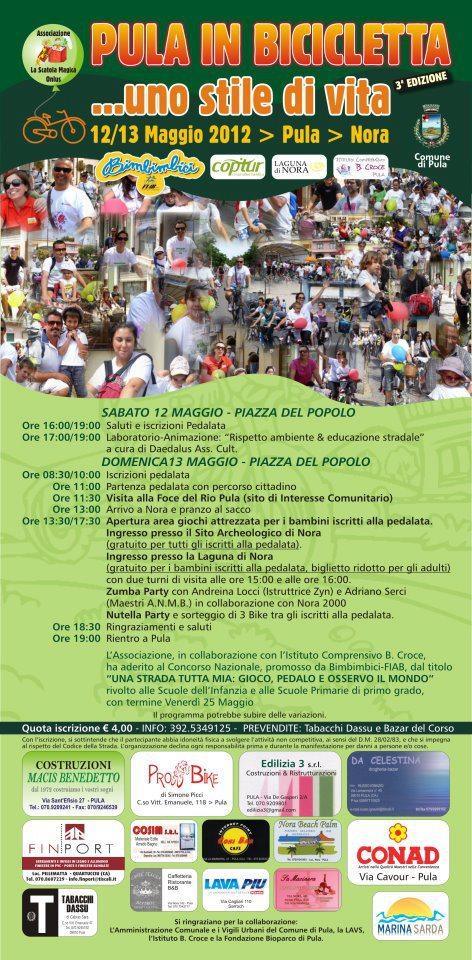 """""""Pula in bicicletta.....uno stile di vita"""" - 12/13 Maggio 2013"""