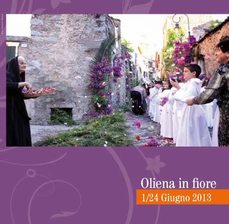 Oliena in fiore 2013