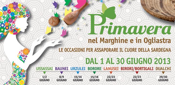 Primavera nel Marghine e in Ogliastra 2013