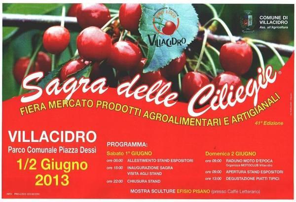 Sagra delle Ciliegie 2013 a Villacidro