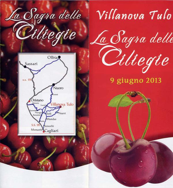 Sagra Ciliegie 2013 a Villanova Tulo