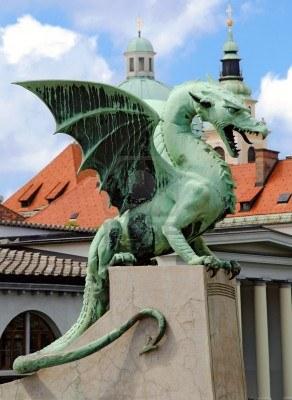 Il Drago simbolo di Lubiana