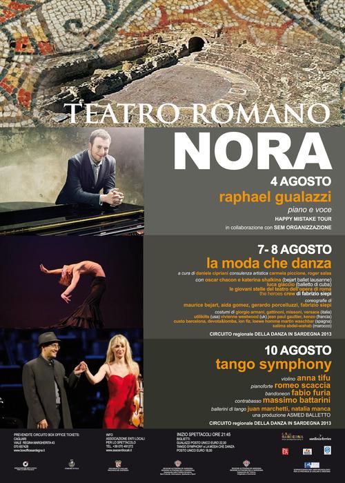 Teatro Romano di Nora - Agosto 2013