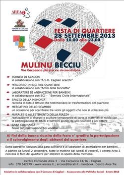 Festa di Quartiere a Mulinu Becciu - Cagliari