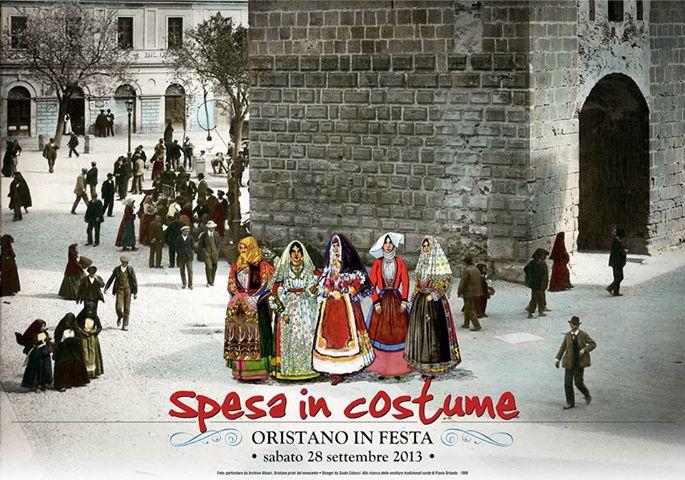 Spesa in Costume ad Oristano - 28 Settembre 2013