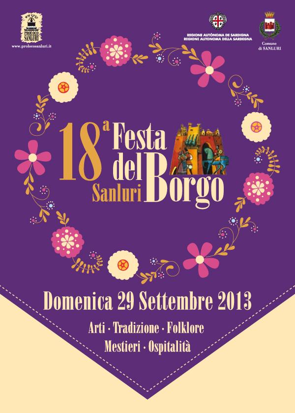 Festa del Borgo 2013 a Sanluri - Domenica 29 Settembre