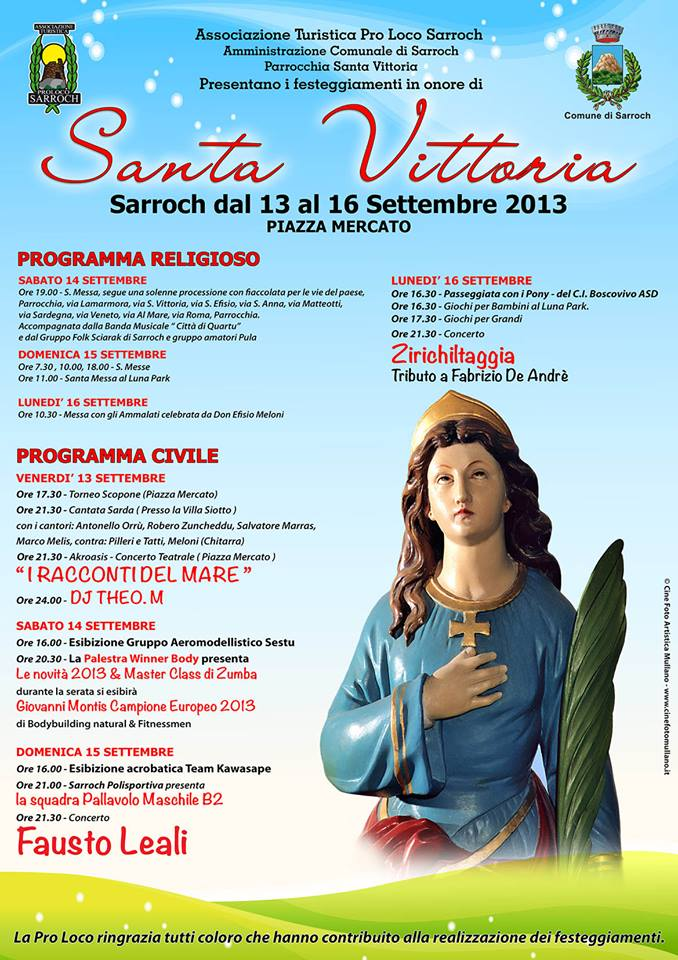 Santa Vittoria - A Sarroch