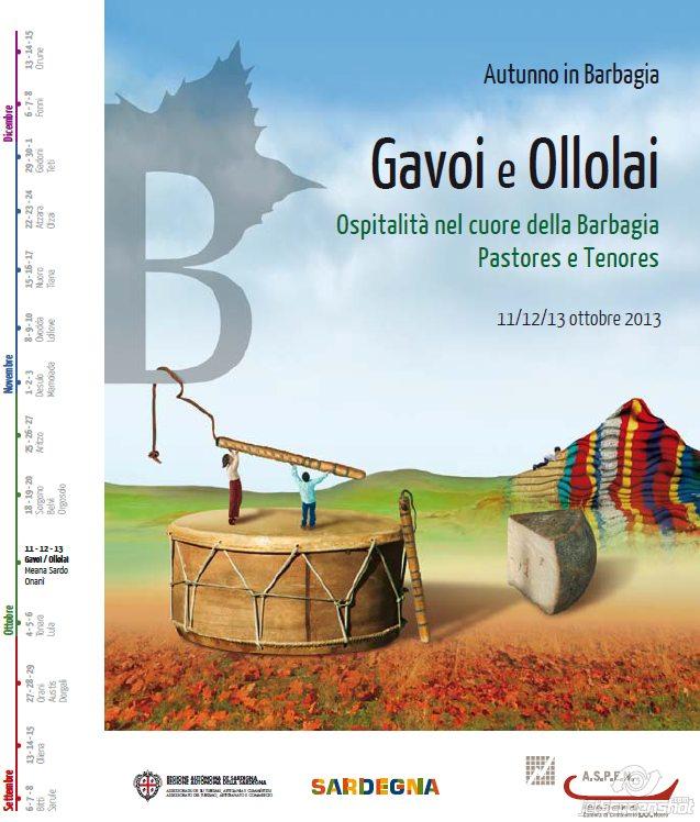 Autunno in Barbagia 2013 a Gavoi e Ollai