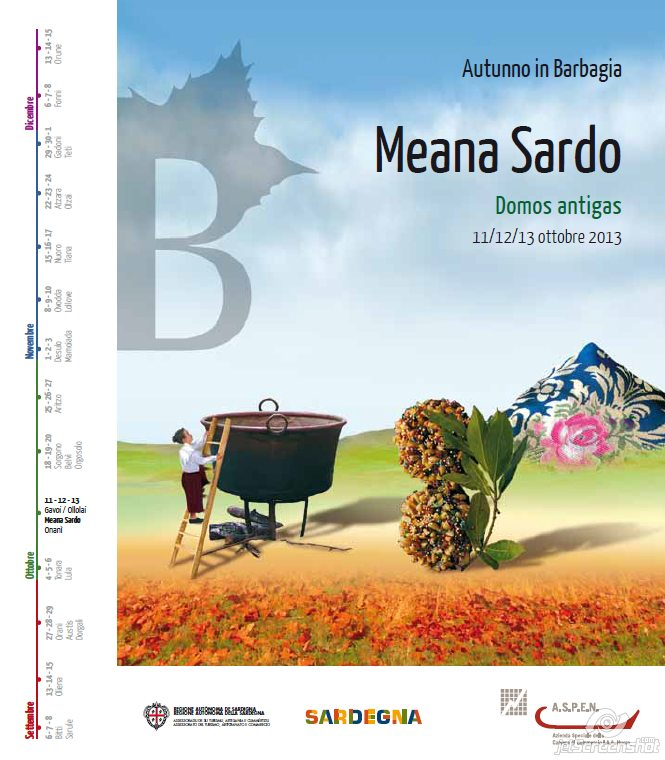 Autunno in Barbagia 2013 a Meana Sardo