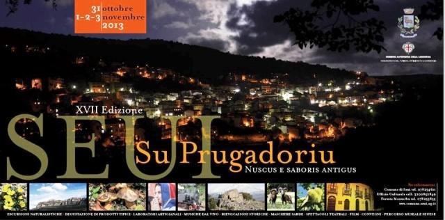Su Prugadoriu 2013 - A Seui dal 31 Ottobre al 3 Novembre