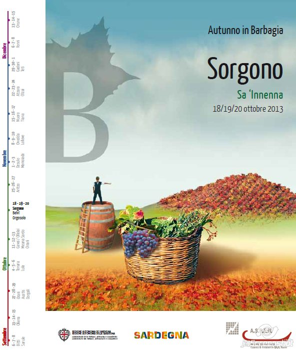Autunno in Barbagia 2013 a Sorgono– Dal 18 al 20 Ottobre