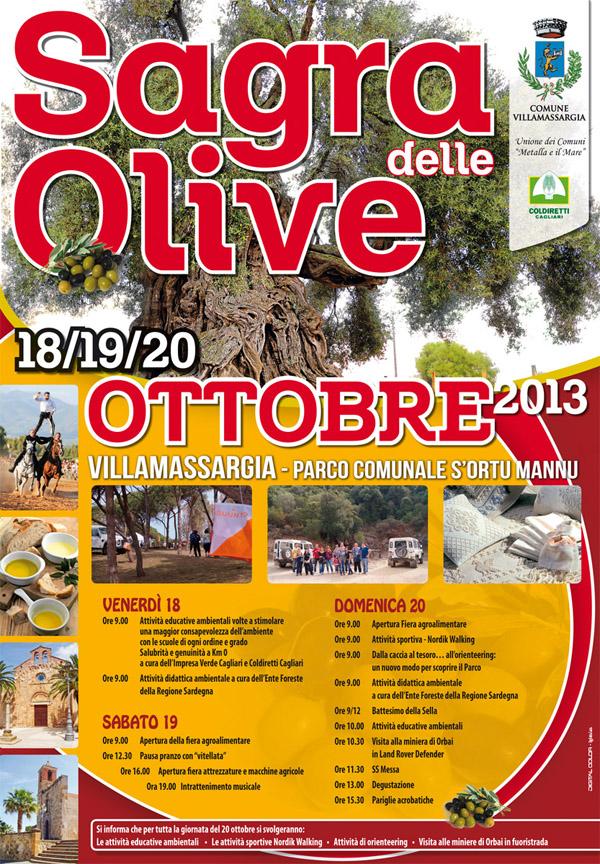 Sagra delle Olive 2013 a Villamassargia