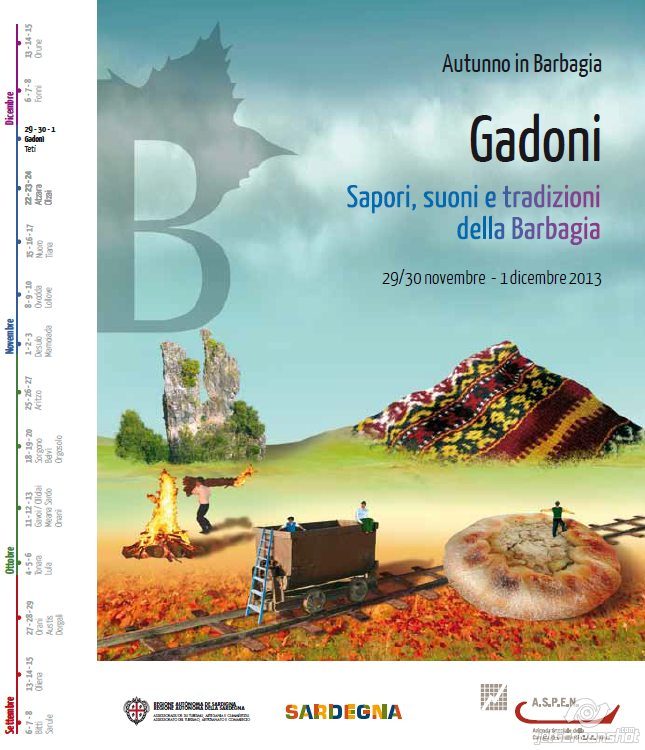 Autunno in Barbagia 2013 a Gadoni