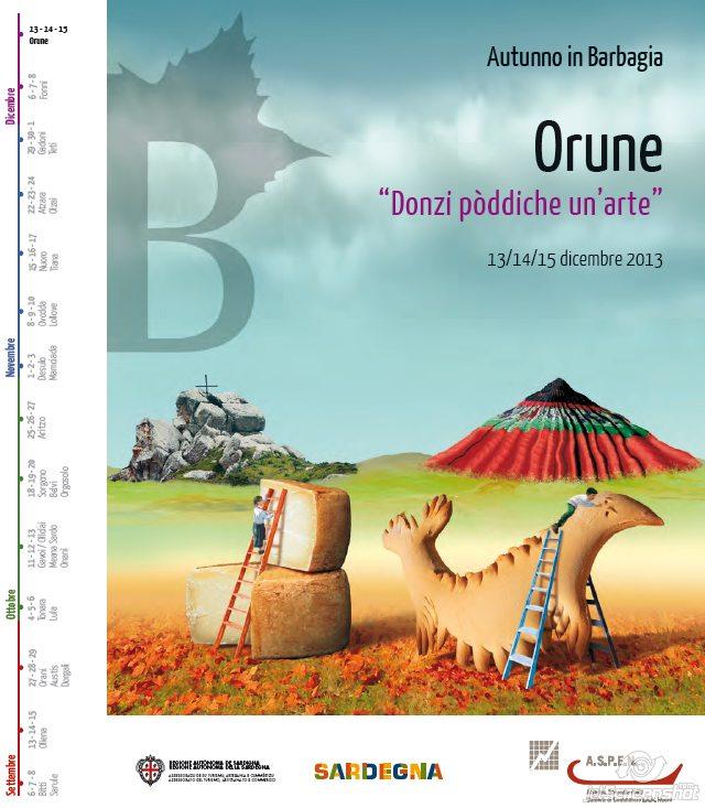 Autunno in Barbagia 2013 a Orune - Dal 13 al 15 Dicembre