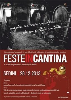 Feste in cantina a Sedini - Sabato 28 Dicembre