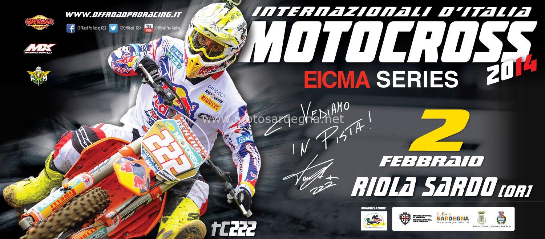 Internazionali di Motocross a Riola Sardo - Domenica 2 Febbraio 2014