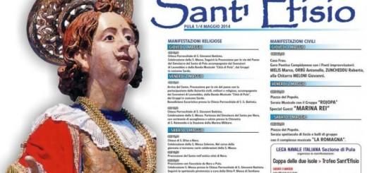 Sant'Efisio a Pula - Il programma dall'1 al 4 Maggio 2014