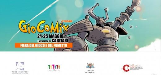GioCoMix 2014 a Cagliari - La Fiera del Gioco e del Fumetto - Il 24 e 25 Maggio