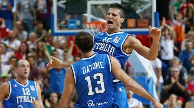 La nazionale italiana di Basket a Cagliari per le ...