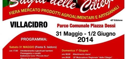Sagra delle Ciliegie 2014 - A Villacidro dal 31 Maggio al 2 Giugno