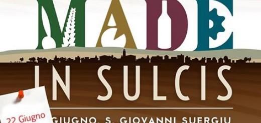 Made in Sulics - Domenica il 22 Giugno 2014 a San Giovanni Suergiu