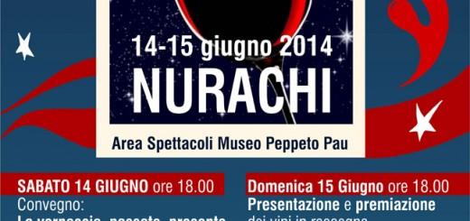 Calici sotto le stelle 2014 a Nurachi