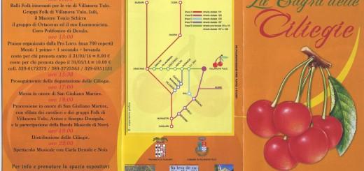 Sagra delle Ciliegie 2014 a Villanova Tulo - Domenica 8 Giugno 2014