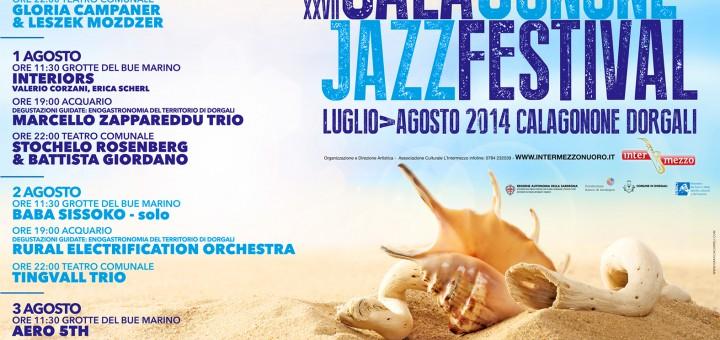 Cala Gonone Jazz Festival - Dal 31 Luglio al 3 Agosto 2014