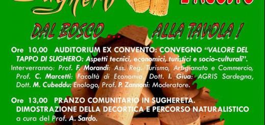 """""""La giornata del tappo di sughero"""" a Calangianus - Sabato 2 Agosto 2014"""