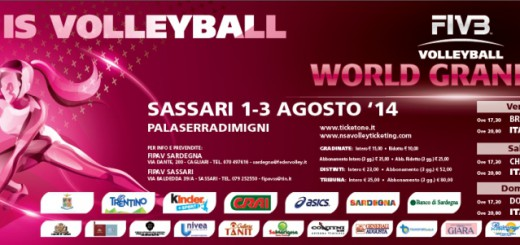 Volley World Grand Prix 2014 a Sassari - Dall'1 al 3 Agosto