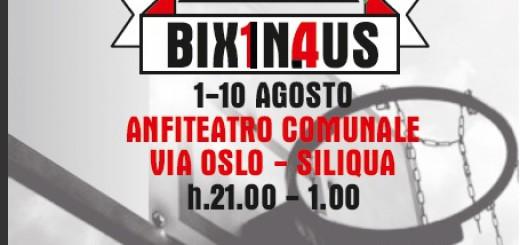 Bixinaus 2014 - Torneo di basket 4 contro 4 a Siliqua - Dall'1 al 10 Agosto