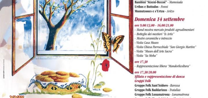 XXIII Sagra della Mandorla a Baressa - 13 e 14 Settembre