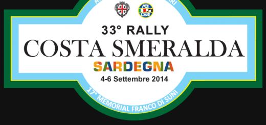 33° Rally Costa Smeralda Sardegna - Dal 4 al 6 Settembre 2014