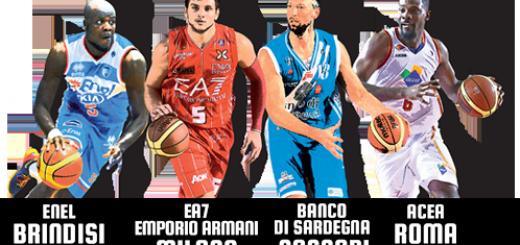 Supercoppa Italiana di Basket a Sassari - 4 e 5 Ottobre 2014