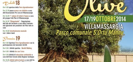 Sagra delle Olive 2014 - A Villamassargia dal 17 al 19 Ottobre