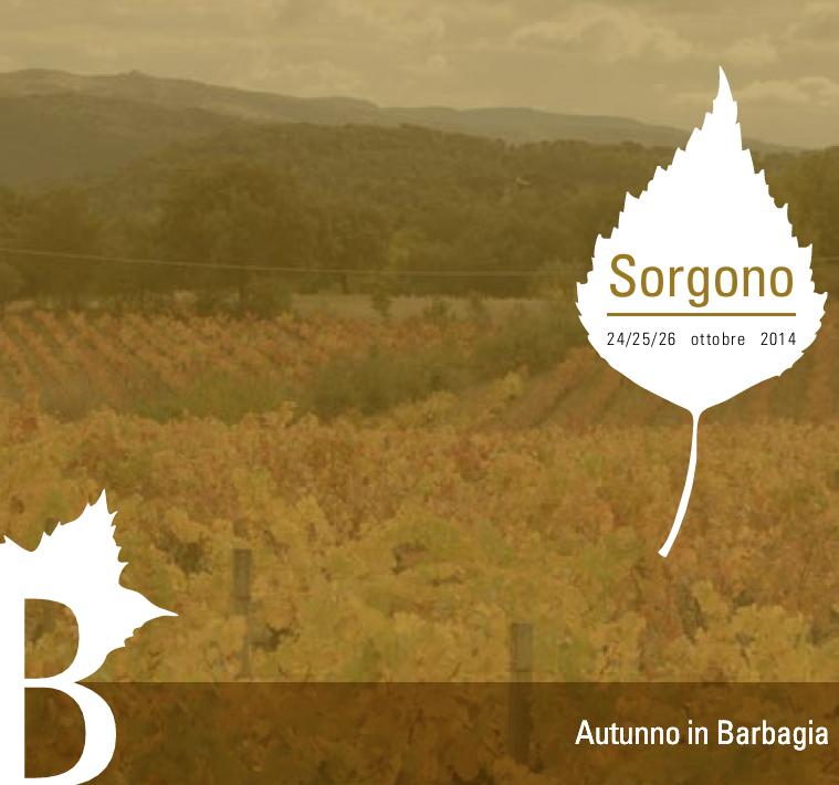 Autunno in Barbagia 2014 a Sorgono