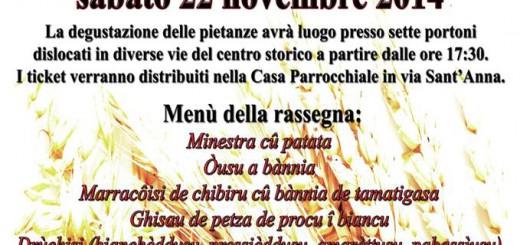 Sapori antichi a Riola Sardo - Sabato 22 Novembre 2014