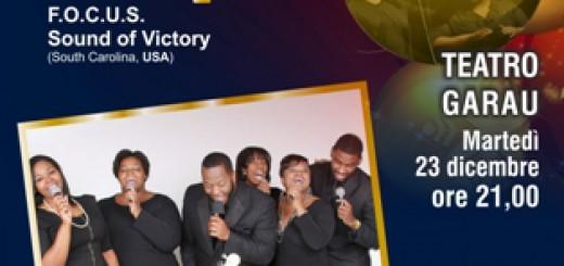 """Concerto Gospel ad Oristano con i """"F.O.C.U.S. Sound of Victory"""""""