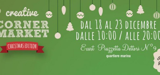 Creative Corner Market - A Cagliari dal 18 al 23 Dicembre 2014