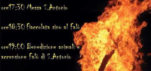 Falò di Sant'Antonio Abate a Buggerru - Sabato 17 Gennaio 2015