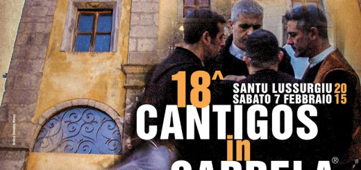 Carnevale Santu Lussurgiu 2015: Cantigos in Carrela - Sabato 7 Febbraio 2015