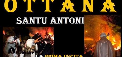 Fuochi Sant'Antonio Abate a Ottana