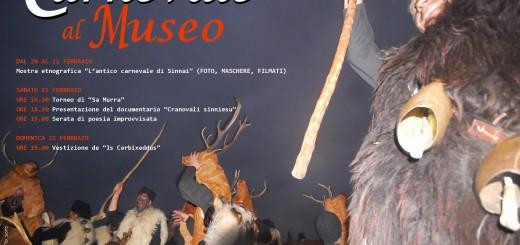 """""""L'antico Carnevale di Sinnai"""" - Carnevale al Museo 2015 - Dal 20 al 22 Febbraio"""