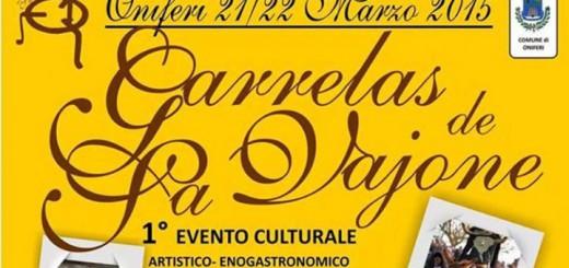 """1^a Edizione """"Garrelas De Sa Vajone"""" a Oniferi - 21 e 22 Marzo 2015"""