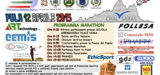3^a edizione della Marathon Delle Tre Caserme - A Pula il 12 Aprile 2015