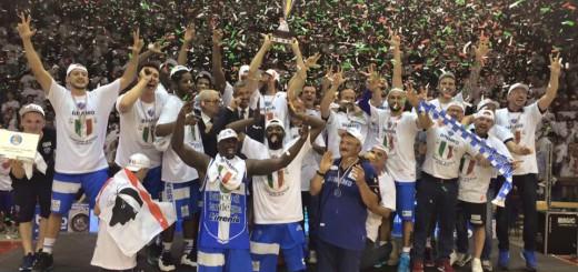 Basket: la #Dinamo #Sassari è campione d'Italia