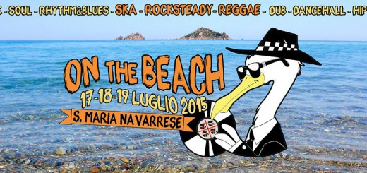 "Festival ""On The Beach"" a Santa Maria Navarrese - Dal 17 al 19 Luglio 2015"