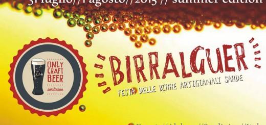 BirrAlguer 2015, Beer Festival Summer Edition - 31 Luglio e 1 Agosto 2015