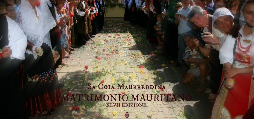 Matrimonio Mauritano - Sa Coia Maurreddina - A Santadi il 2 Agosto 2015