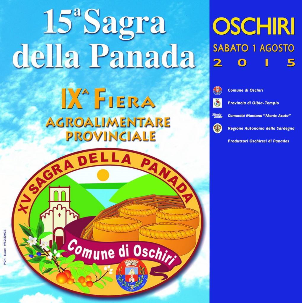 Sagra della Panada a Oschiri - Sabato 1 Agosto 2015